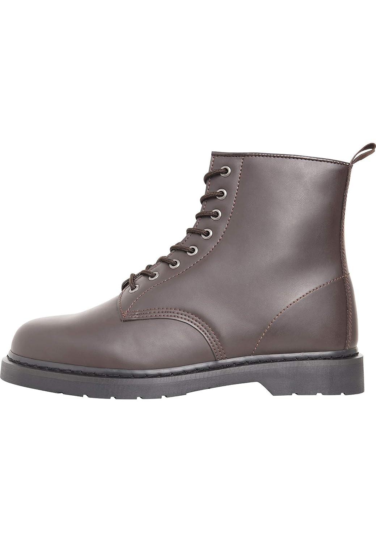 Urban Classics Unisex-Erwachsene Heavy Lace 00606) Combat Boots, Rot (Burgundy 00606) Lace 7caa73