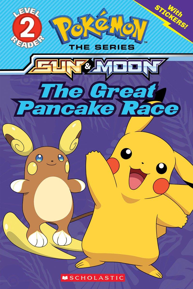 Download The Great Pancake Race (Pokémon: Level 2 Reader) PDF ePub book