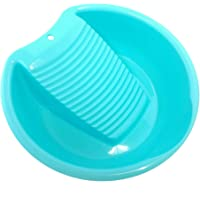 Ohisu Blue Washboard Basin for Hand Washing Clothes and Small Delicate Articles