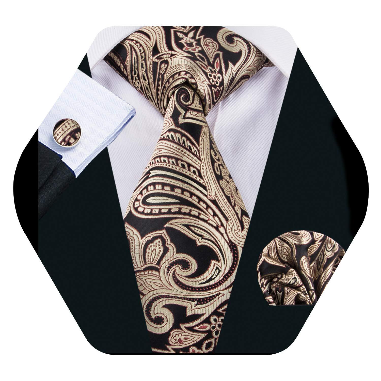 Barry.Pañuelo de bolsillo de corbata de seda amarilla Wang para ...