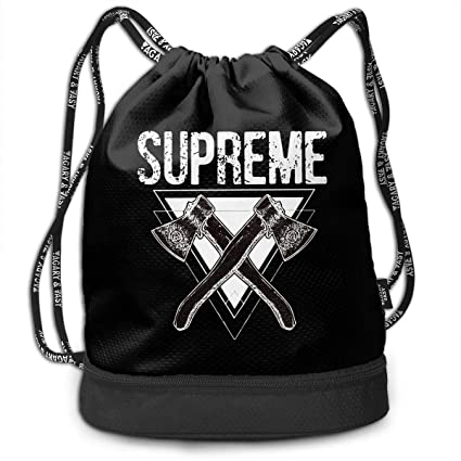 42a3640921b418 Amazon.com: PLO Supreme Warrior & Fighter Drawstring Backpack ...