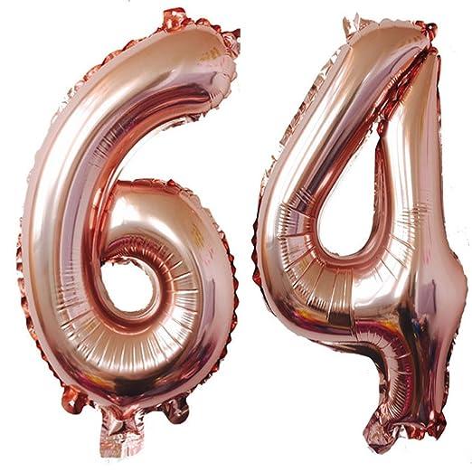 Globos de helio digital de 40 pulgadas con número de números ...