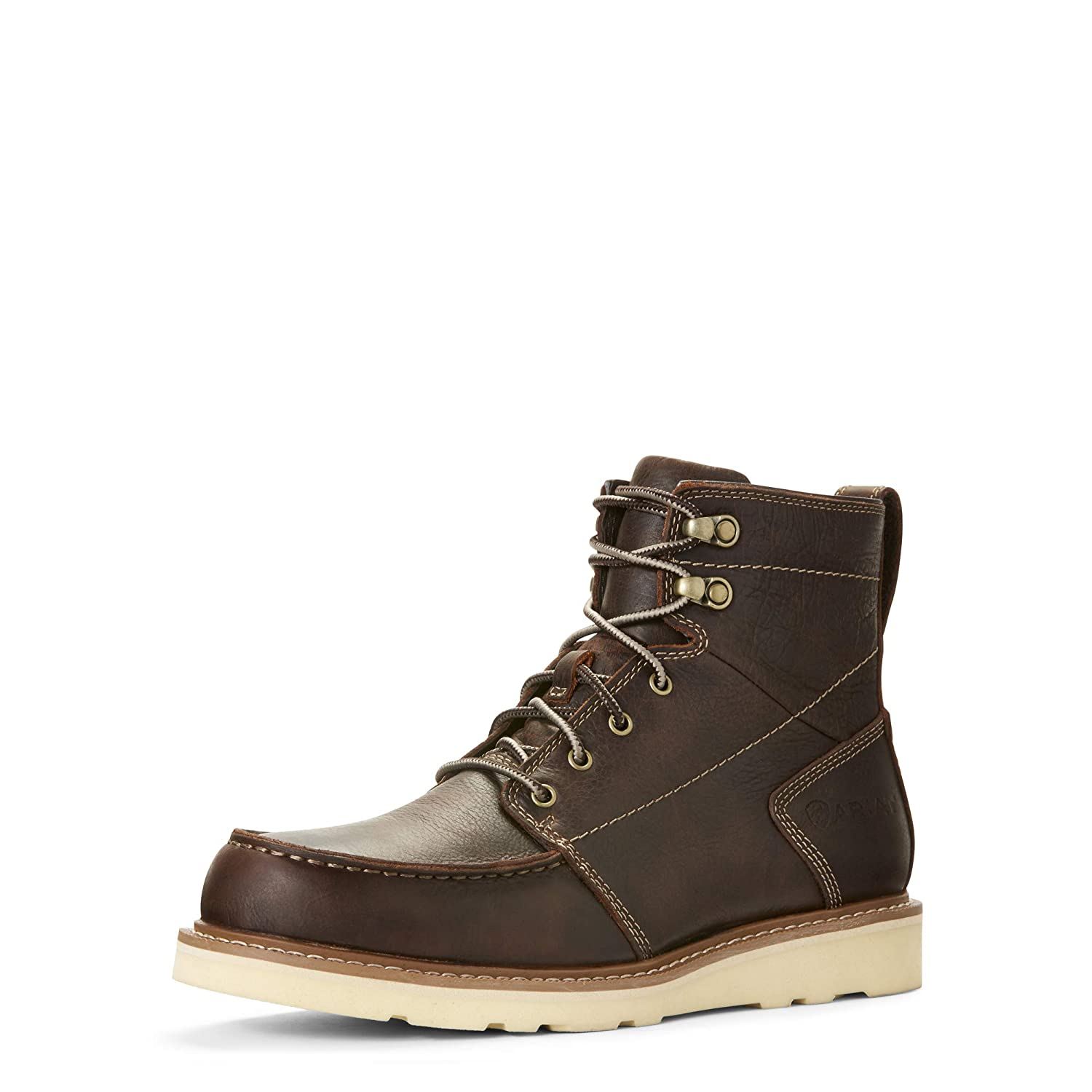 ARIAT Mens Recon Lace Boot Brewed Barley Size 7 M Us