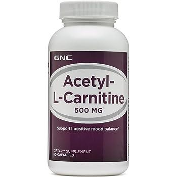 Amazon Com Gnc Acetyl L Carnitine 500 Mg Health