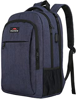 2d275ded34c Large College Backpack,Durable Computer Backpack with USB Charging Port Fit  17 inch Notebook,