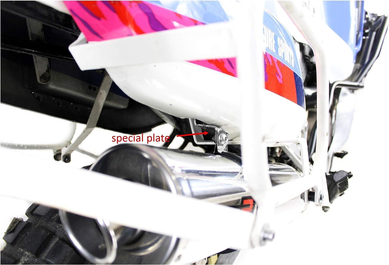 XRV 750 Africa Twin RD04 Marmitta Racing Tondo Dominator Exhaust Terminale di Scarico Silenziatore 1990 1991 1992