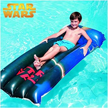 Trade Shop traesio colchón Hinchable para Playa Piscina Star Wars ...