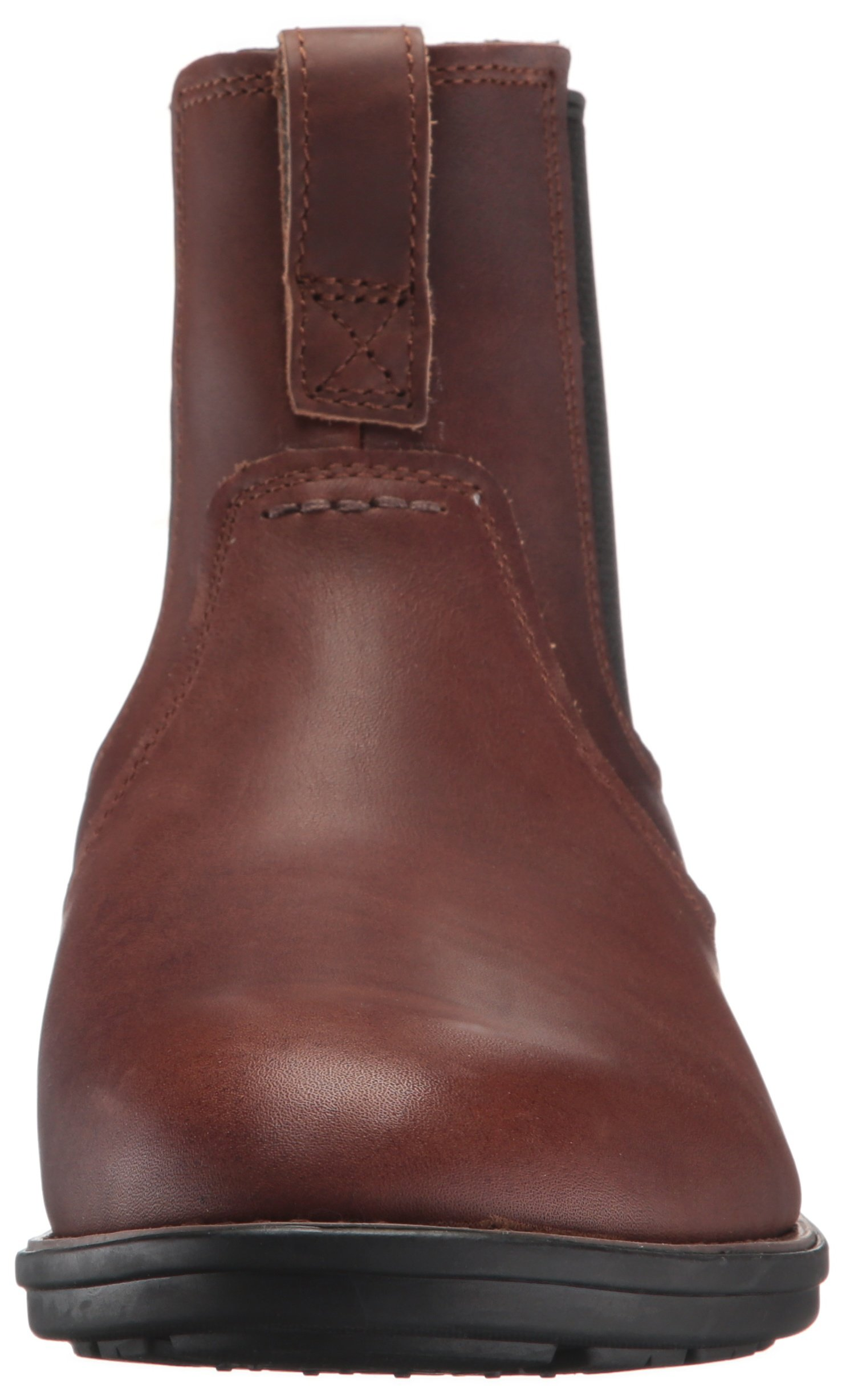 Timberland Men's Carter Notch Chelsea Boot, Dark Brown Full Grain, 14 C US by Timberland (Image #4)