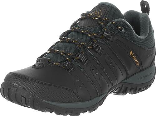 Columbia Woodburn II Waterproof, Chaussures de Randonnée Basses Homme