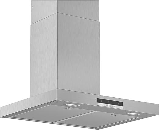 Bosch DWB66DM50B Serie 4 Touch Control - Campana de cocina plana (60 cm, acero inoxidable): Amazon.es: Hogar