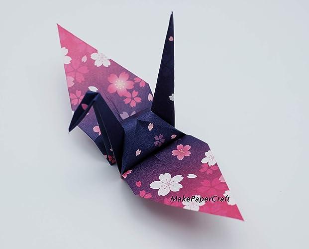 Amazon.com: Origami Paper Sheets SaKuRa Paper Pack 4 ...