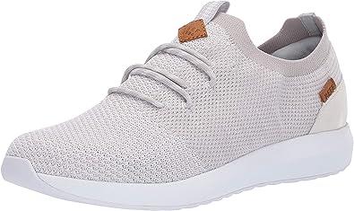 RF0A3VC3 Skate Shoe, White/Silver, 9.5