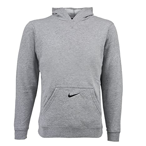 36a79ba5b Amazon.com: Nike Boy's Core Hoodie True Grey/Black L: Sports & Outdoors
