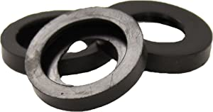 Gilmour 801144-1001 Connector 114GAMP PRO Heavy-Duty Rubber Seals for Brass Female Quick Con