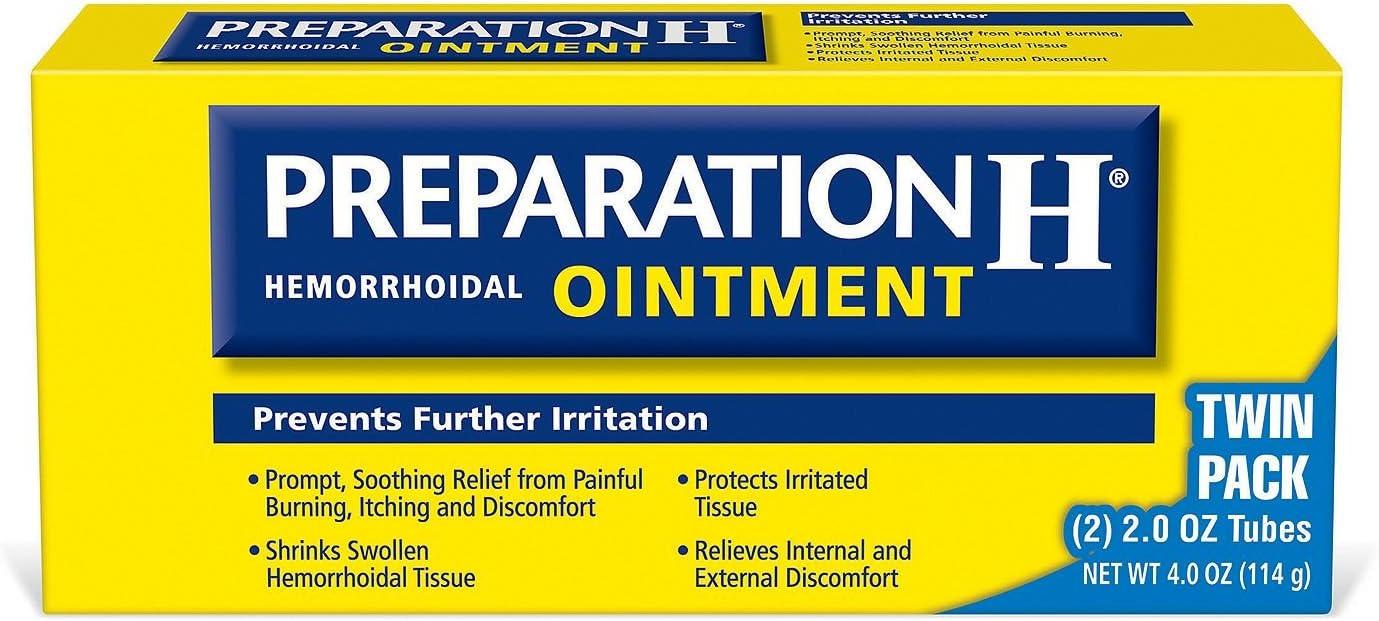 Preparation H Hemorrhoidal Treatment (4 Ounce) IIIiii
