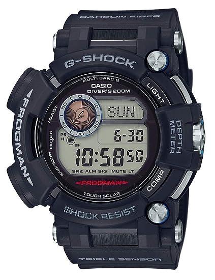 Casio Reloj Digital para Hombre de Cuarzo con Correa en Plástico GWF-D1000-1ER: Amazon.es: Relojes
