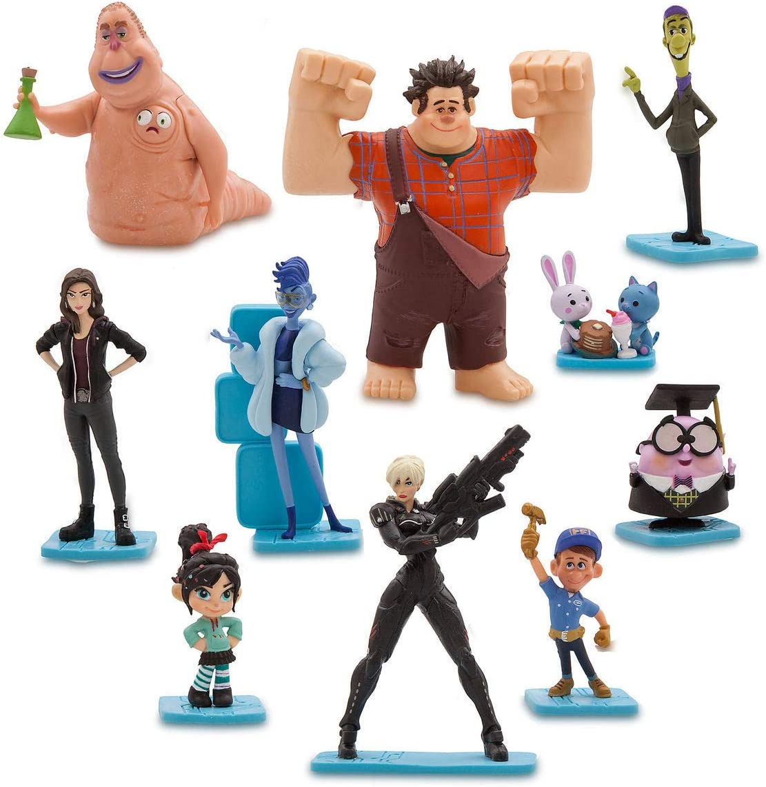 Disney NEW Ralph Breaks The Internet Fix It Felix /& Calhoun Figures