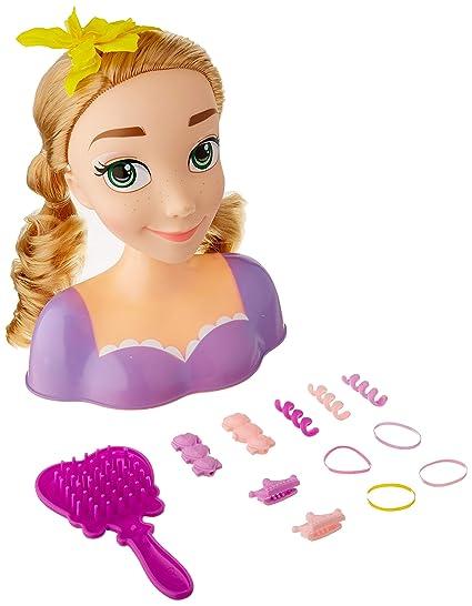 Amazon Disney Princess Rapunzel Styling Head Doll Toys Games