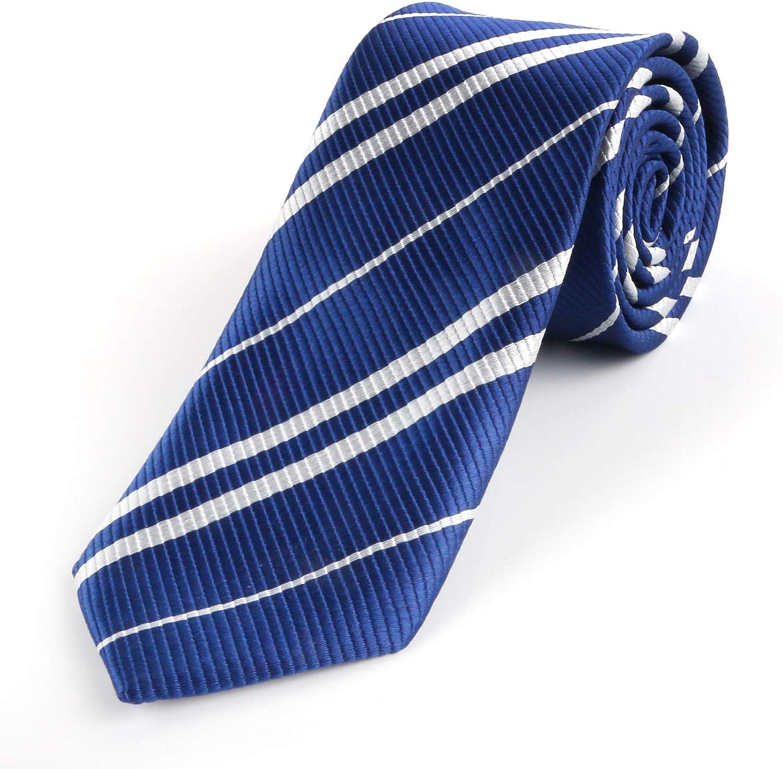 Harry Potter Ravenclaw Silk Emblem Necktie Tie Costume Cosplay Accessory