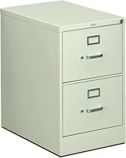 product image for HON 312CPQ 310 Series 26-1/2-Inch 2-Drawer Full-Suspension Legal File, Light Gray