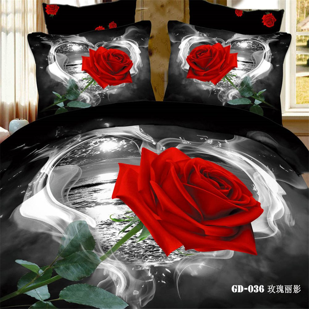 Black and red bedding - Black And Red Bedding 10