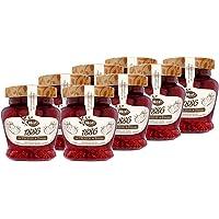 Hero - Mermelada Extra con Trozos de Fresas, Sin Conservantes y Sin Colorantes - Pack de 8 x 320 g