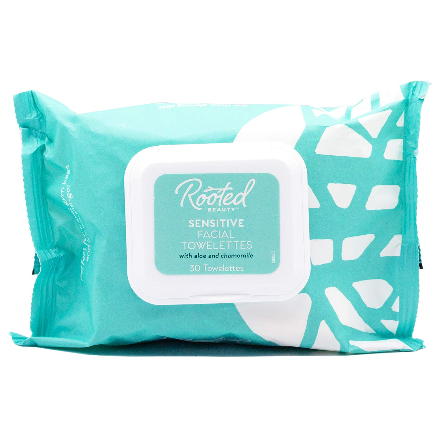 Rooted Beauty Sensitive Skin Facial Towelettes- Makeup Remover Facial Wipes- Face Cleansing Wipes for Women