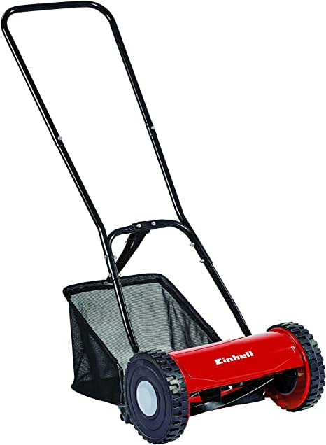 Einhell GC-HM 30 Manual Hand Push Lawnmower - Best for Small Lawns