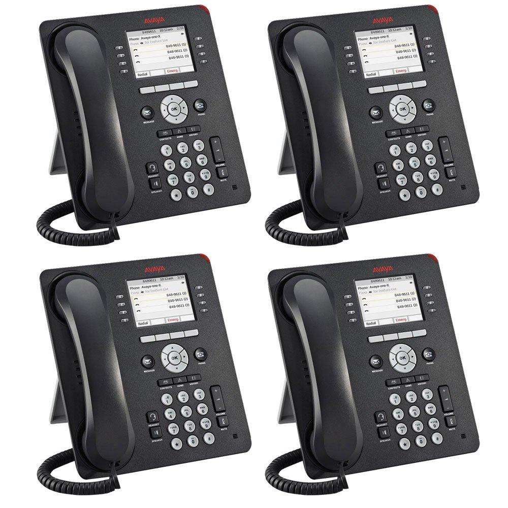 Avaya 9611G 4 PACK IP Gigabit Office Phone 700510904 by Avaya