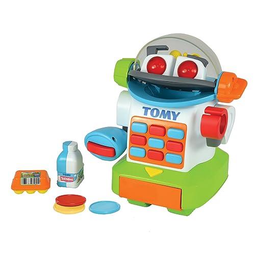 TOMY Toomies - E72612 - Shopbot Mon Petit Caissier - Jouet Electronique - Jouet Premier Age