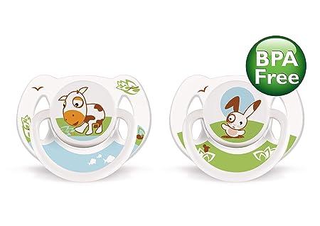 Amazon.com : BPA Animal Chupete, 6-18 meses, estilo y el ...