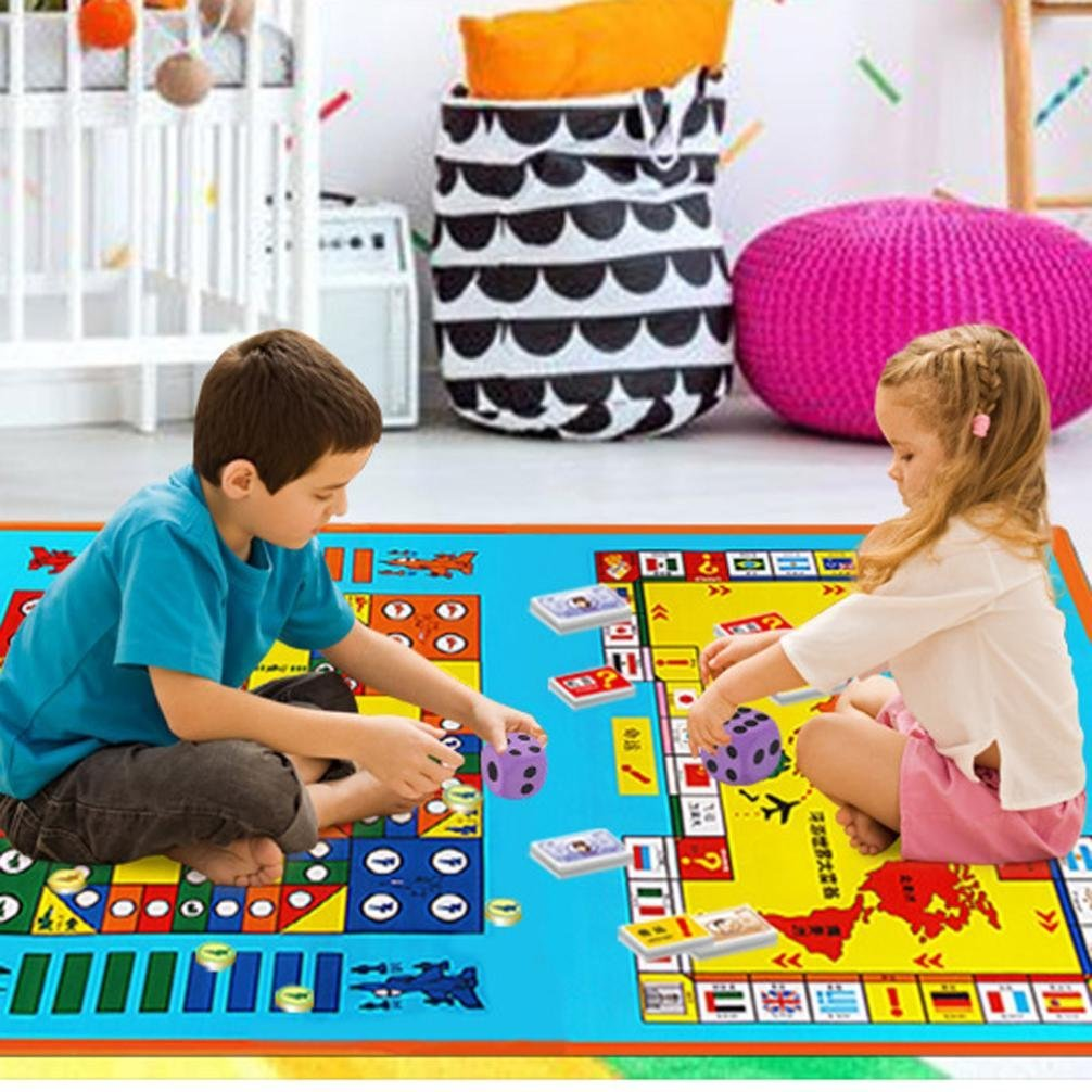 Kids Interactive Toys Large EVA Foam Dice Block Party Game Toy Award Children