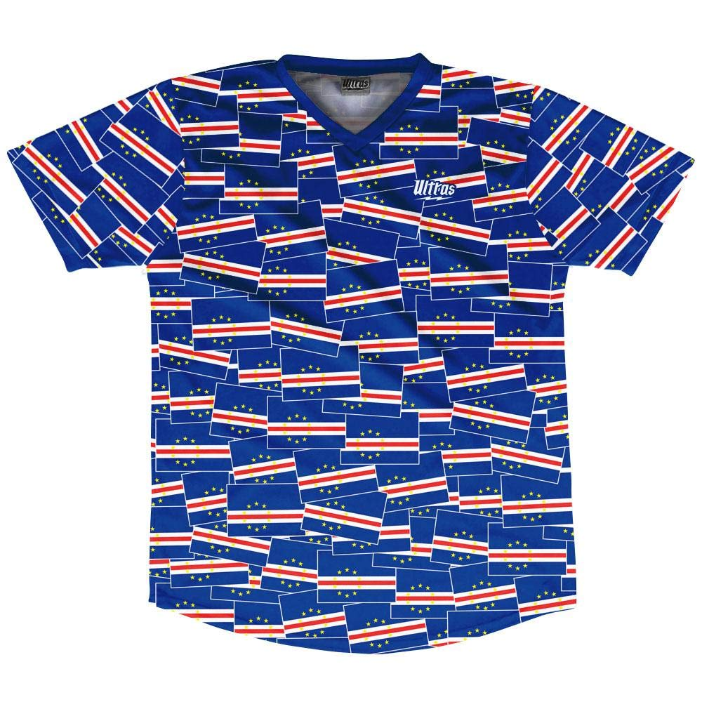 Ultras Cape Verde Party Flags Soccer Jersey