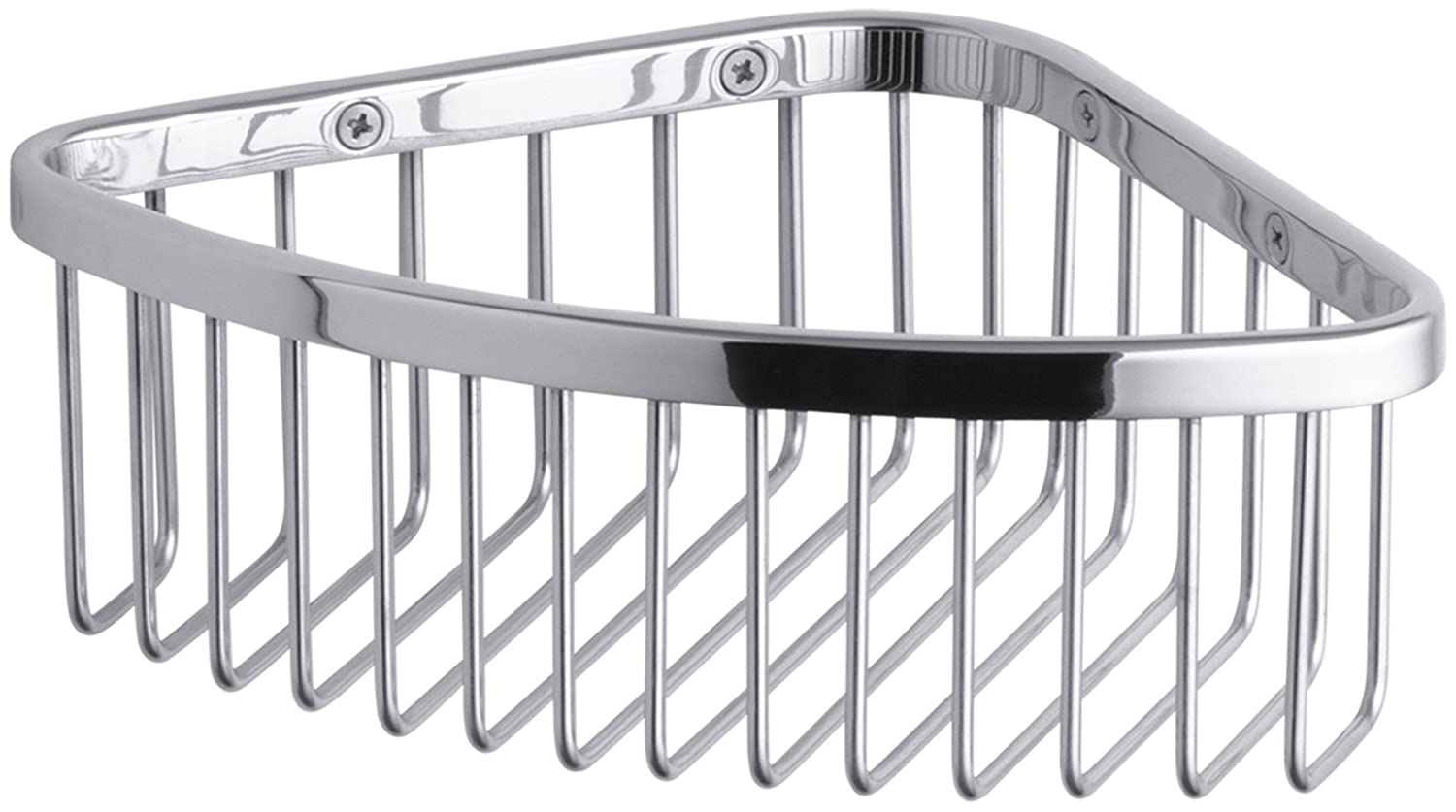 Amazon.com: KOHLER K-1896-SN Medium Shower Basket, Vibrant Polished ...