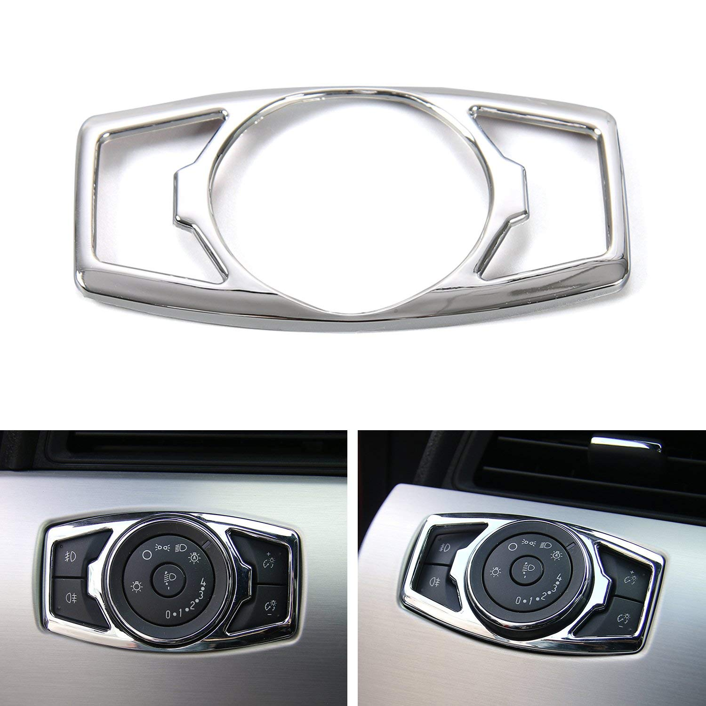 GZXinWei Car Headlight Switch Trim Decorative Switch Cover,Red