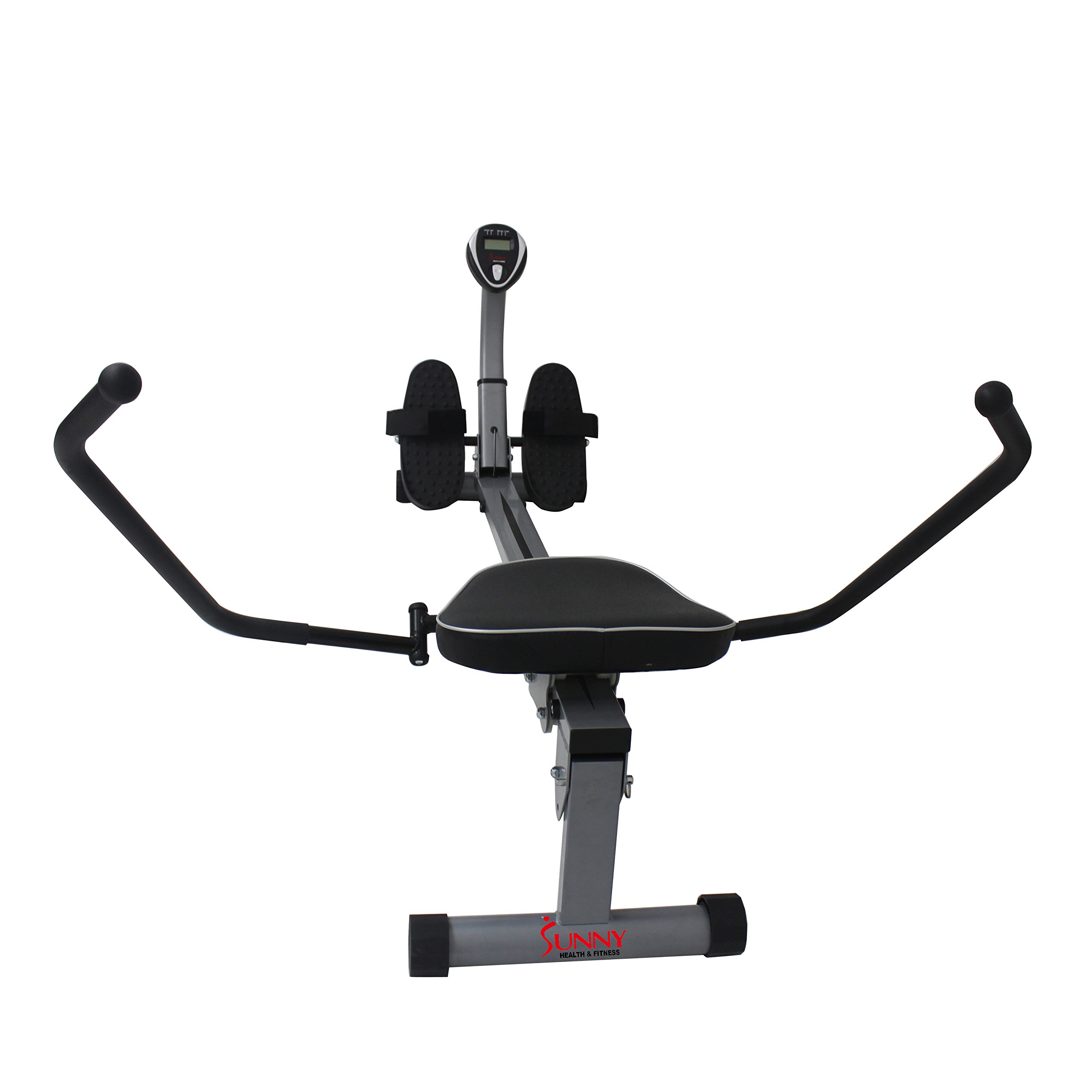 Sunny Health & Fitness SF-RW1410 Rowing Machine Rower with Full Motion Arms and LCD Monitor by Sunny Health & Fitness (Image #11)