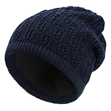 4fcd37d1ff3 VBIGER Soft Warm Knit Hat Unisex Winter Hats and Scarves Dual-use Beanie  for Men