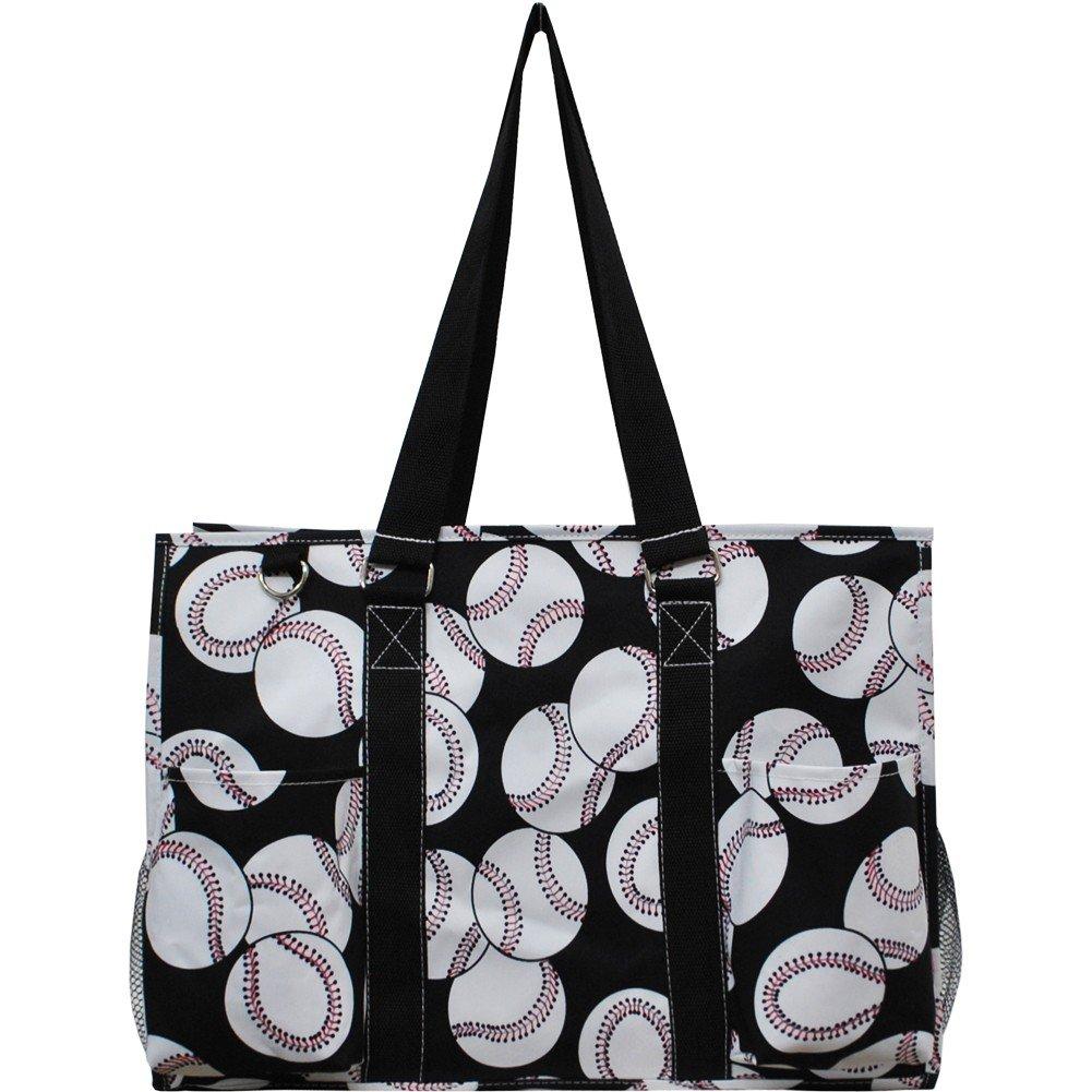 38818ff33d8c Baseball Print NGIL Large Travel Caddy Organizer Tote Bag