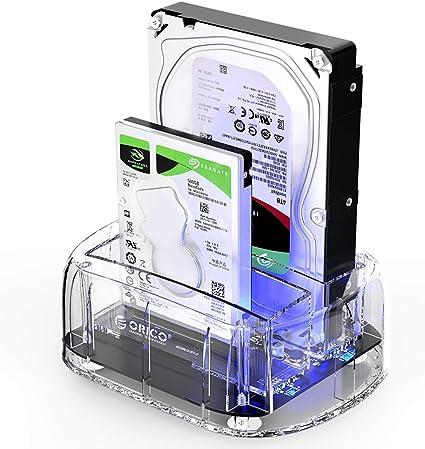 SATA3 to USB 3.0 2.5/'/' inch HDD SSD Backup Hard Drive Docking Station Enclosure