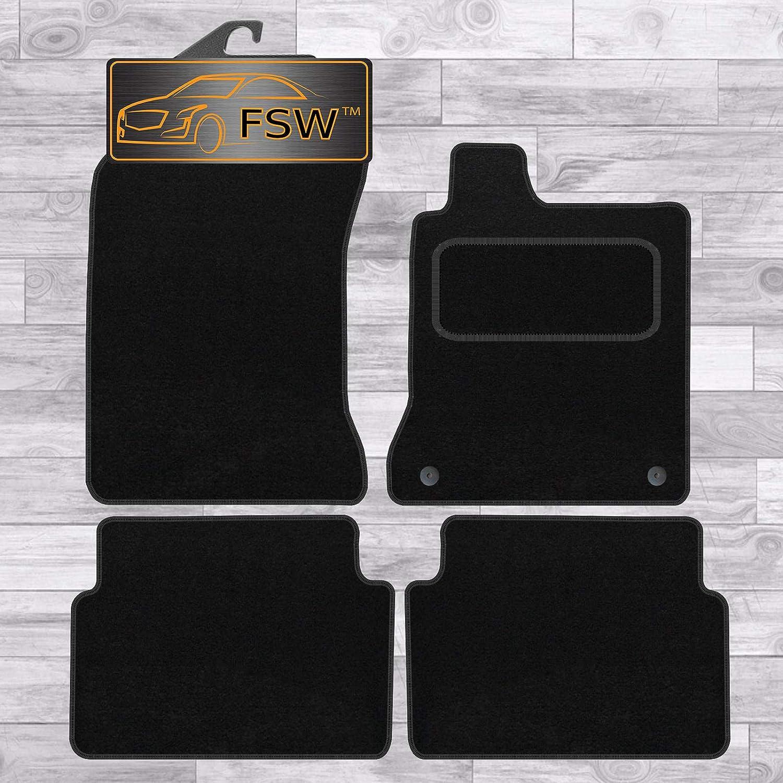 FSW Laguna 2008 On Fully Tailored Classic Carpet Car Floor Mats Black