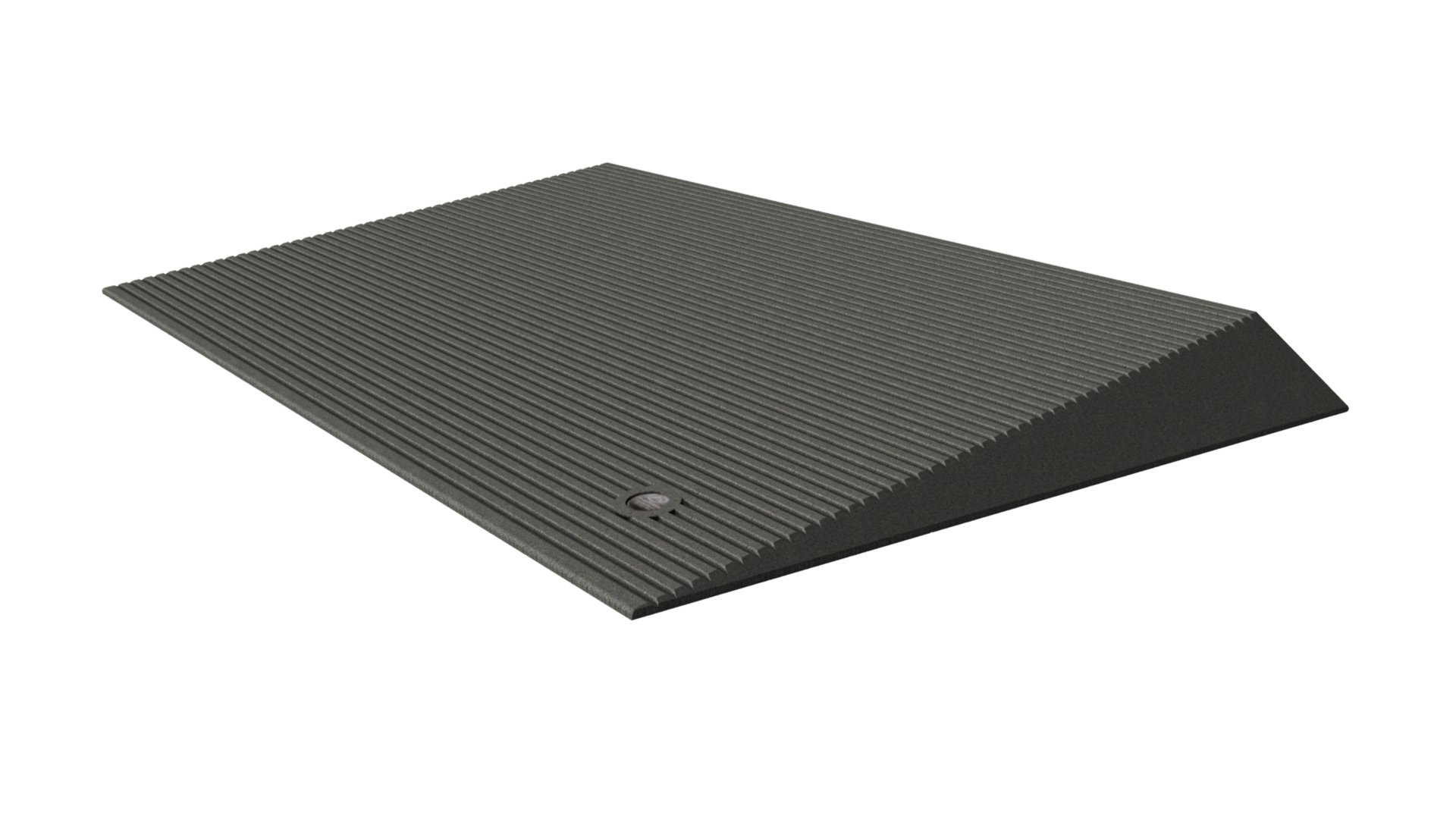 EZ-ACCESS Transitions Angled Entry Mat, Storm Grey, 31 Pound