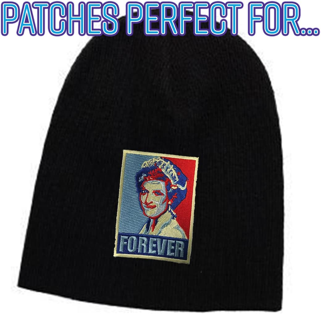 Forever Princess Diana Iron on Embroidered Patch On Jacket Shirt