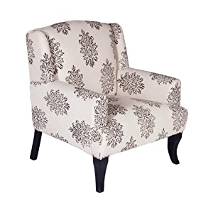 Gocosy Majestic Arm Chair (Fabric, Multicolour)