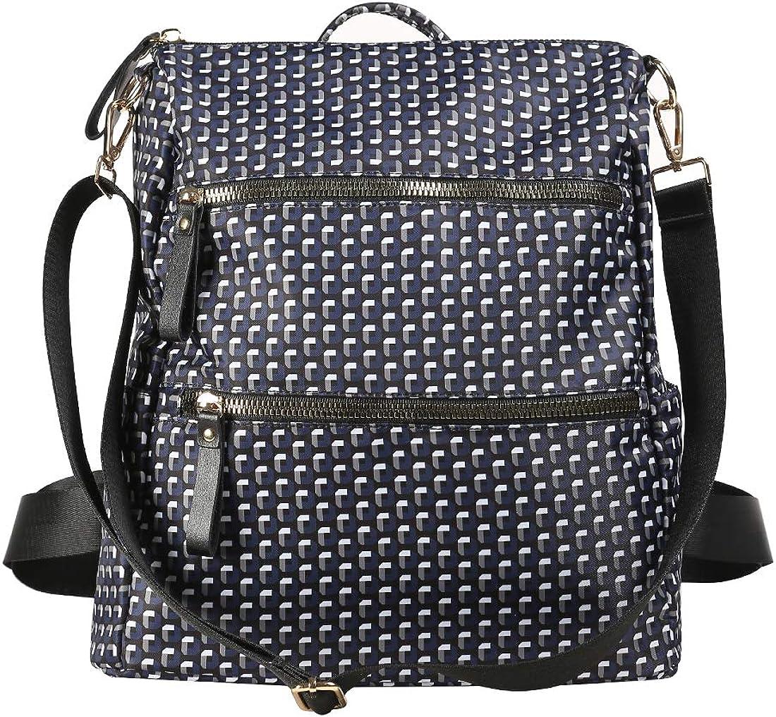 LEVIRO Backpack Purse for Women Casual Mini Zipper Shoulder Bag Fashion Ladies Satchel Bags Travel Dayback…
