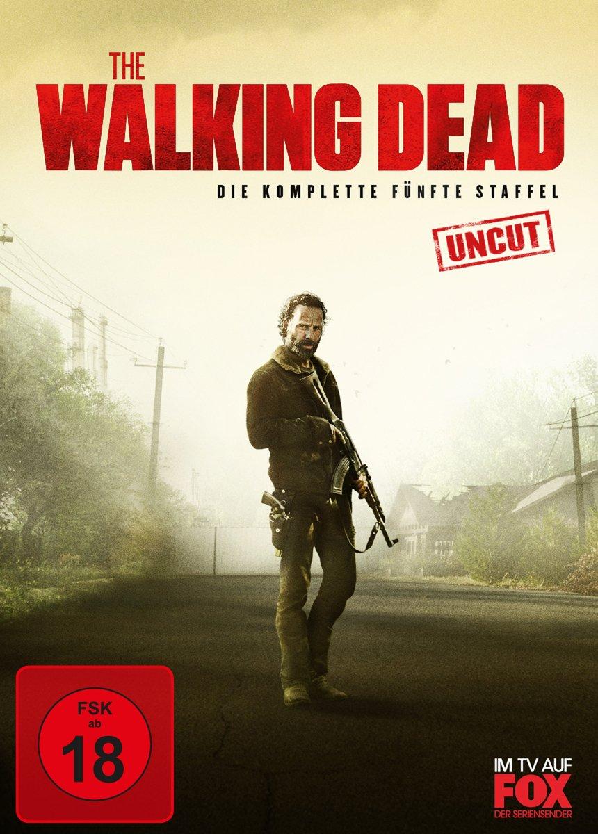 The Walking Dead Komplette Funfte Staffel Uncut  Discs Amazon De Andrew Lincoln Norman Reedus Chandler Riggs Danai Gurira Melissa Mcbride