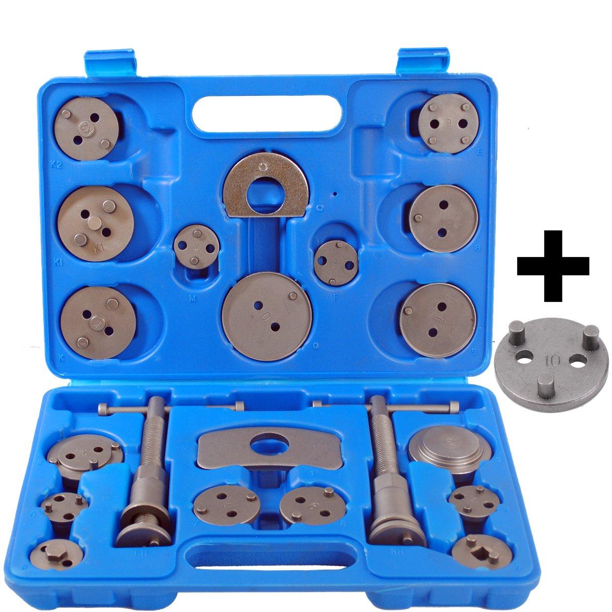 CCLIFE Caja con herramientas para reponer pinzas de freno,set de herramientas para vehículos,