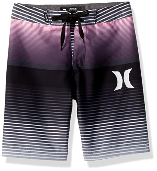 f86d4f1400fec Hurley Boys' Little Board Shorts, Black/Purple Fade, 7: Amazon.co.uk:  Clothing
