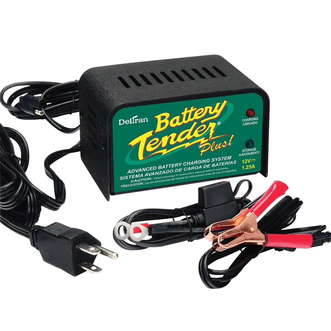 Deltran Battery Tender 10513 Black 1.25 Charger/Maintainer for 12 V Batteries