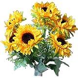 7-stem Sunflowers, Artificial Flower