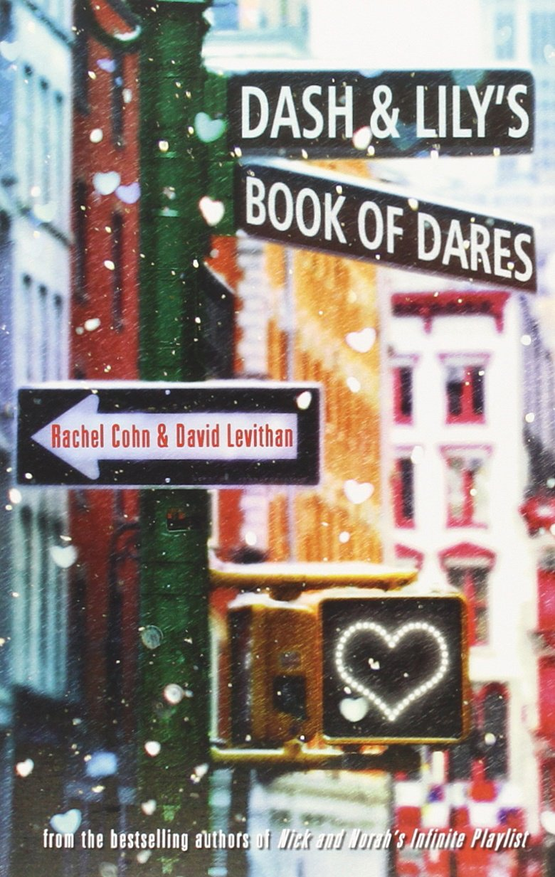 Image result for dash and lily's book of dares and twelve days cover